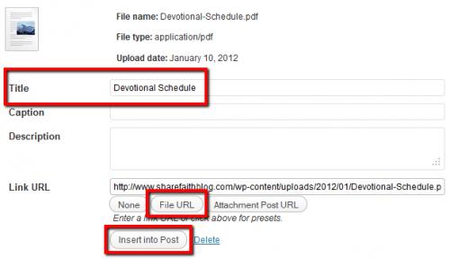how to make a pdf link to a website