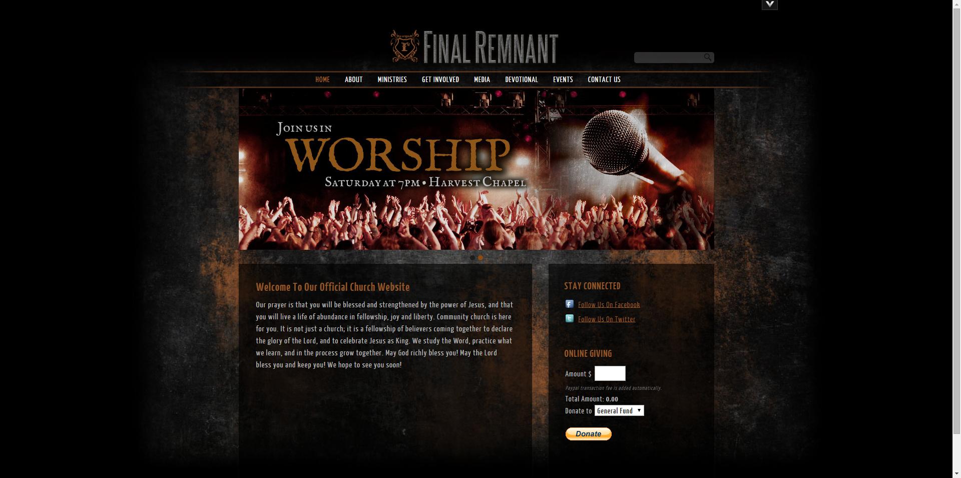 edgy website design