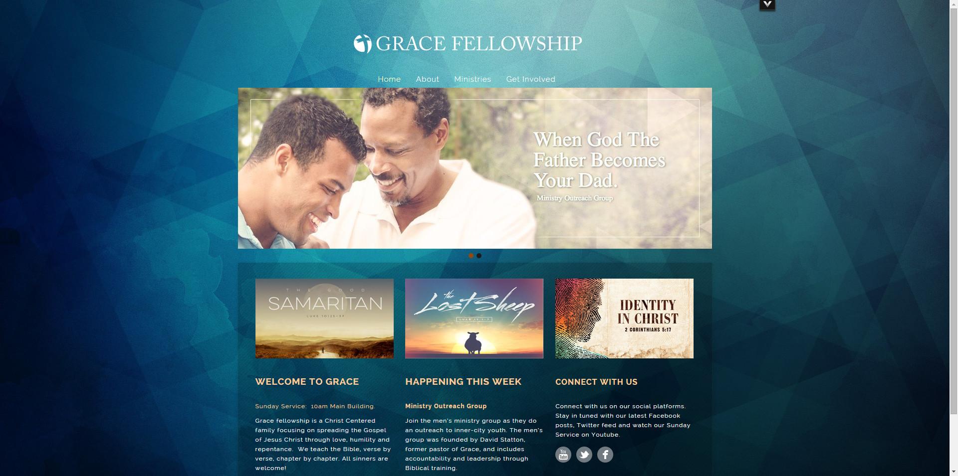 Church Website Design Examples