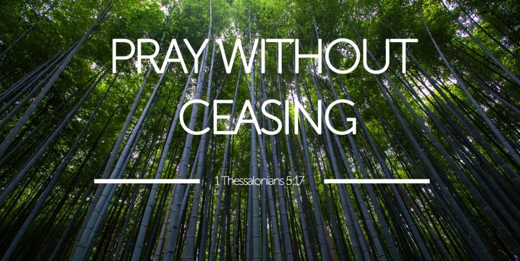 pray-ceasing
